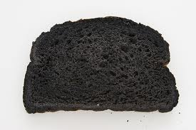 Burnt toast and a hairy chest??
